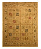 RugStudio presents Eastern Rugs Divinity Os1232iv Green Machine Woven, Good Quality Area Rug