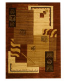 RugStudio presents Eastern Rugs Divinity Os2144 Brown Machine Woven, Good Quality Area Rug