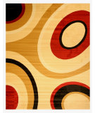 RugStudio presents Eastern Rugs Divinity Os2741bg Black Machine Woven, Good Quality Area Rug