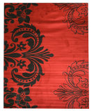 RugStudio presents Eastern Rugs Divinity Os2770rd Red Machine Woven, Good Quality Area Rug