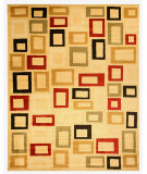 RugStudio presents Eastern Rugs Divinity Os2791bg Black Machine Woven, Good Quality Area Rug