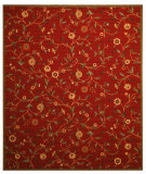 RugStudio presents Eastern Rugs Divinity Os560 Red Machine Woven, Good Quality Area Rug