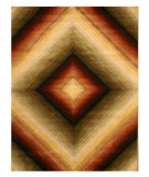 RugStudio presents Eastern Rugs Odyssey T91mu Multi Hand-Tufted, Good Quality Area Rug