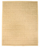 RugStudio presents Eastern Rugs Odyssey T96iv Ivory/Grey Blue Hand-Tufted, Good Quality Area Rug