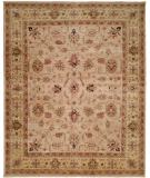 RugStudio presents Kalaty Bashir Ba-585 Ivory/Light Gold Hand-Knotted, Good Quality Area Rug