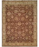 RugStudio presents Kalaty Bashir Ba-587 Brown/Ivory Hand-Knotted, Good Quality Area Rug