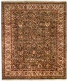 RugStudio presents Kalaty Kabir Kb-361 Green/Beige Hand-Knotted, Best Quality Area Rug