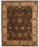 RugStudio presents Famous Maker Kabriol 100362 Black Hand-Knotted, Best Quality Area Rug