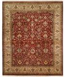 RugStudio presents Famous Maker Kabriol 100363 Red Hand-Knotted, Best Quality Area Rug