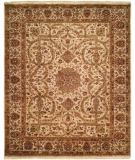 RugStudio presents Kalaty Kabir Kb-364 Ivory/Ivory Hand-Knotted, Best Quality Area Rug