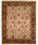 RugStudio presents Kalaty Kabir Kb-366 Ivory/Burgundy Hand-Knotted, Best Quality Area Rug