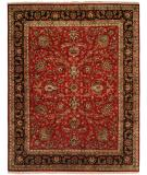 RugStudio presents Kalaty Kabir Kb-369 Red/Black Hand-Knotted, Best Quality Area Rug
