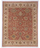 RugStudio presents Kalaty Soumak Su-115 Rose/Ivory Flat-Woven Area Rug