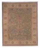 RugStudio presents Famous Maker Soumak 230 Green Flat-Woven Area Rug