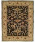 RugStudio presents Kalaty Soumak Su-147 Black/Ivory Flat-Woven Area Rug