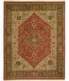 RugStudio presents Famous Maker Soumak 262 Chocolate Flat-Woven Area Rug