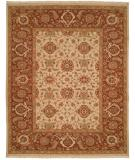 RugStudio presents Kalaty Soumak Su-199 Ivory/Brown Flat-Woven Area Rug