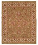 RugStudio presents Famous Maker Soumak 311 Green Flat-Woven Area Rug