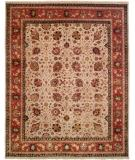 RugStudio presents Famous Maker Tablie 100481 Orange Hand-Knotted, Best Quality Area Rug