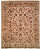RugStudio presents Famous Maker Tablie 100485 Neutrals Hand-Knotted, Best Quality Area Rug