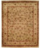 RugStudio presents Kalaty Tabriz Tr-552 Camel/Ivory Hand-Knotted, Best Quality Area Rug