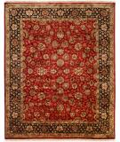 RugStudio presents Famous Maker Tabita 100553 Red Hand-Knotted, Best Quality Area Rug