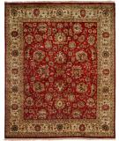 RugStudio presents Kalaty Tabriz Tr-554 Rust/Ivory Hand-Knotted, Best Quality Area Rug