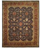 RugStudio presents Famous Maker Tabita 100556 Blue Hand-Knotted, Best Quality Area Rug