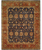RugStudio presents Famous Maker Bastrop 100593 Orange Hand-Knotted, Best Quality Area Rug