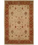 RugStudio presents Kalaty Empire EM-280 Ivory-Red Hand-Tufted, Best Quality Area Rug