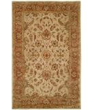 RugStudio presents Kalaty Empire EM-282 Ivory-Rust Hand-Tufted, Best Quality Area Rug
