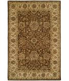 RugStudio presents Rugstudio Sample Sale 23967R Brown-Ivory Hand-Tufted, Best Quality Area Rug