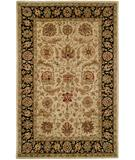 RugStudio presents Kalaty Empire EM-286 Ivory-Black Hand-Tufted, Best Quality Area Rug