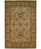 RugStudio presents Kalaty Empire EM-288 Light Blue-Gold Hand-Tufted, Best Quality Area Rug