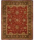 RugStudio presents Famous Maker Empressa 100289 Rust-Brown Hand-Tufted, Best Quality Area Rug