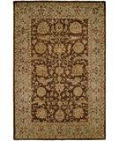 RugStudio presents Kalaty Empire EM-290 Brown-Light Blue Hand-Tufted, Best Quality Area Rug
