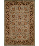 RugStudio presents Kalaty Empire EM-293 Light Blue/Brown Hand-Tufted, Best Quality Area Rug