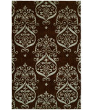 RugStudio presents Famous Maker Grimani 100672 Chocolate Hand-Knotted, Best Quality Area Rug