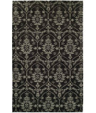 RugStudio presents Famous Maker Grimani 100673 Black Hand-Knotted, Best Quality Area Rug