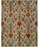 RugStudio presents Famous Maker Ikat 100423 Multi Hand-Tufted, Best Quality Area Rug