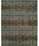 RugStudio presents Famous Maker Ikat 100424 Multi Hand-Tufted, Best Quality Area Rug
