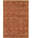 RugStudio presents Famous Maker Miran 100489 Rust Hand-Knotted, Best Quality Area Rug