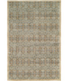 RugStudio presents Famous Maker Miran 100492 Blue Hand-Knotted, Best Quality Area Rug