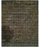 RugStudio presents Famous Maker Madson 100363 Coffee Multi Hand-Tufted, Good Quality Area Rug