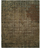 RugStudio presents Famous Maker Madson 100364 Mocha Multi Hand-Tufted, Good Quality Area Rug