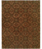 RugStudio presents Famous Maker Newsen 100063 Rust Hand-Tufted, Good Quality Area Rug