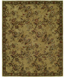 RugStudio presents Famous Maker Newsen 100068 Gold Hand-Tufted, Good Quality Area Rug