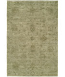 RugStudio presents Famous Maker Niran 100935 Green Hand-Knotted, Best Quality Area Rug