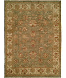RugStudio presents Famous Maker Oushak 516 Green Hand-Knotted, Best Quality Area Rug