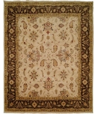 RugStudio presents Famous Maker Oushak 529 Brown Hand-Knotted, Good Quality Area Rug